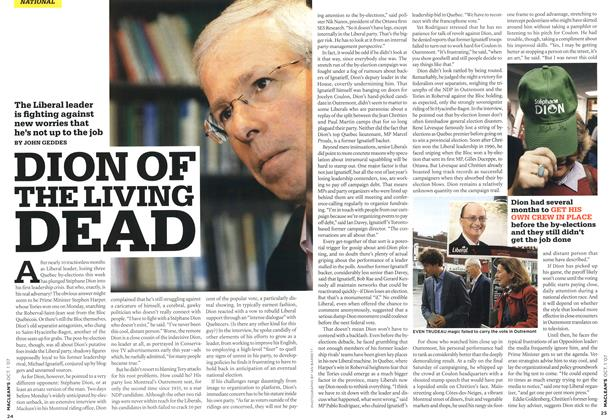 Article Preview: DION OF THE LIVING DEAD, OCT. 1st 2007 2007 | Maclean's