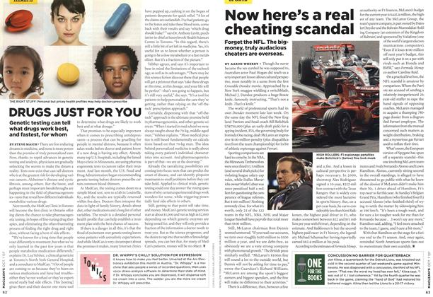 Article Preview: DRUGS JUST FOR YOU, OCT. 1st 2007 2007 | Maclean's