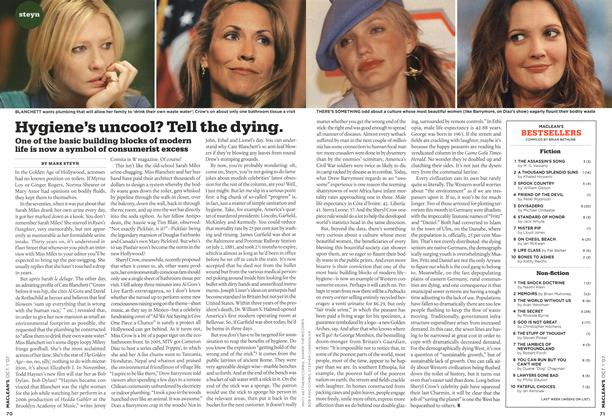 Article Preview: Hygiene's uncool? Tell the dying., OCT. 1st 2007 2007 | Maclean's