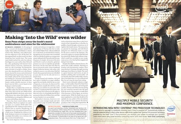 Article Preview: Making 'Into the Wild' even wilder, OCT. 1st 2007 2007 | Maclean's