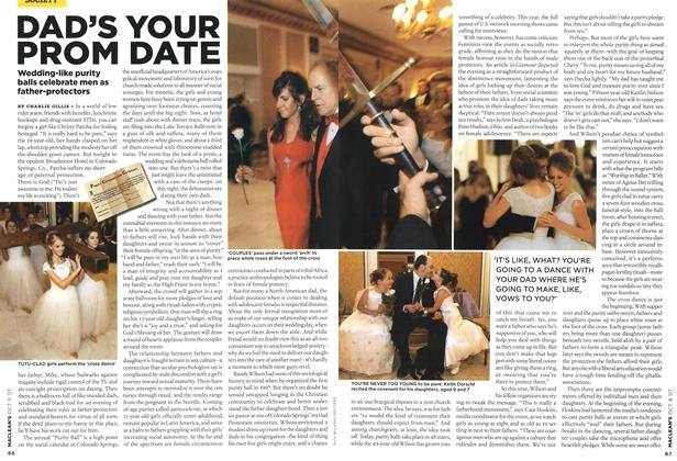 Article Preview: DAD'S YOUR PROM DATE, OCT. 8th 2007 2007 | Maclean's