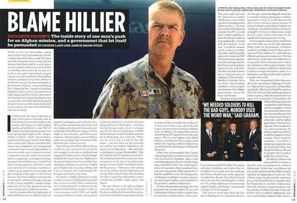 Article Preview: BLAME HILLIER, OCT. 15th 2007 2007 | Maclean's