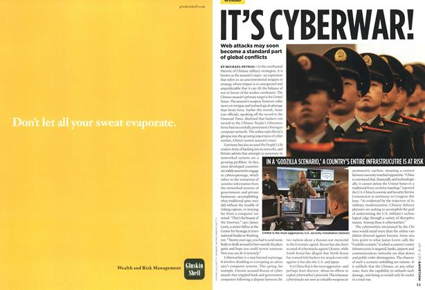 Article Preview: IT'S CYBERWAR!, OCT. 15th 2007 2007 | Maclean's
