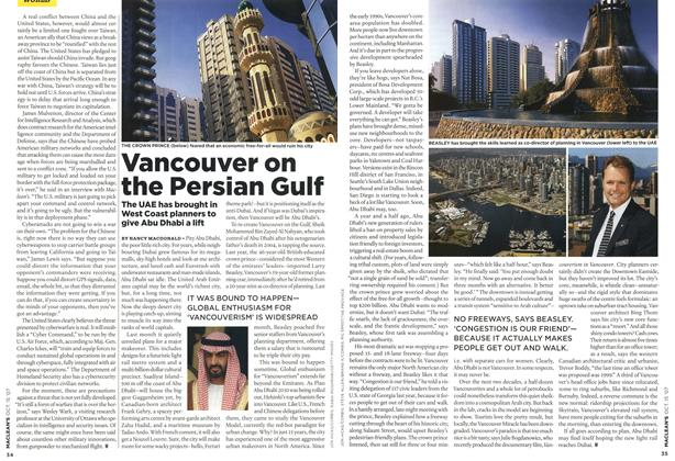 Article Preview: Vancouver on the Persian Gulf, OCT. 15th 2007 2007 | Maclean's
