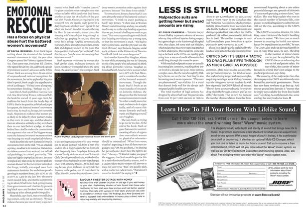 Article Preview: LESS IS STILL MORE, OCT. 15th 2007 2007 | Maclean's