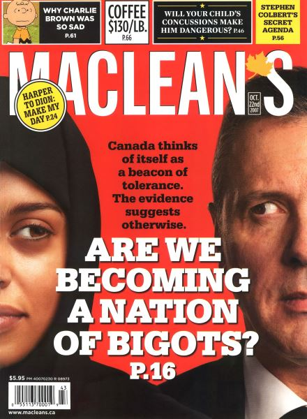 Issue: - OCT. 22nd 2007 | Maclean's