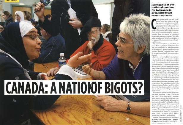 Article Preview: CANADA: A NATION OF BIGOTS?, OCT. 22nd 2007 2007 | Maclean's
