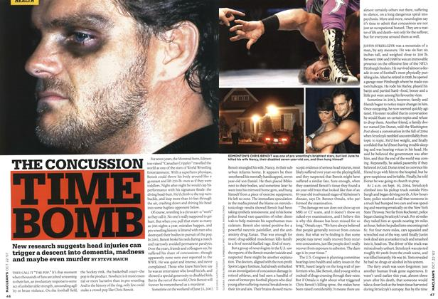 Article Preview: THE CONCUSSION TIME BOMB, OCT. 22nd 2007 2007 | Maclean's