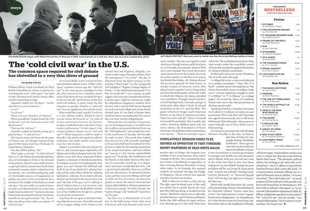 Article Preview: The 'cold civil war' in the U.S., OCT. 22nd 2007 2007 | Maclean's