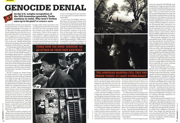 Article Preview: GENOCIDE DENIAL, OCT. 29th 2007 2007 | Maclean's