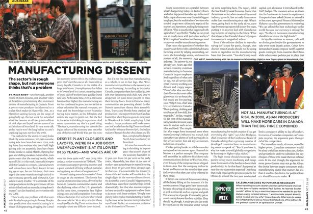 Article Preview: MANUFACTURING DISSENT, OCT. 29th 2007 2007 | Maclean's