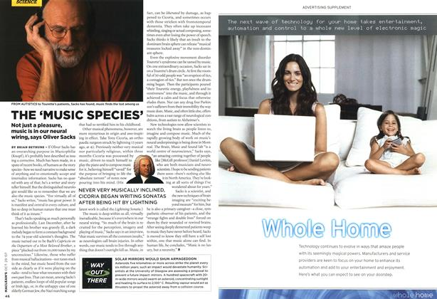 Article Preview: THE 'MUSIC SPECIES', OCT. 29th 2007 2007 | Maclean's