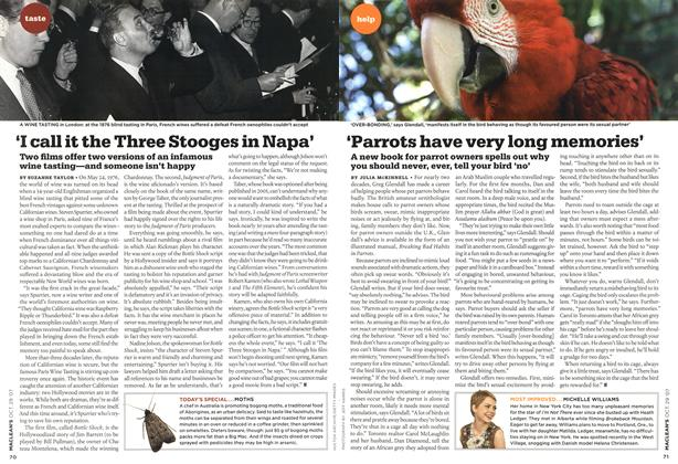 Article Preview: 'Parrots have very long memories', OCT. 29th 2007 2007 | Maclean's