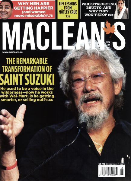 Issue: - NOV. 5th 2007 | Maclean's