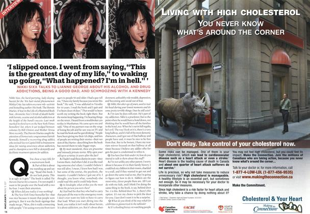 """Article Preview: 'I slipped once. I went from saying, """"This is the greatest day of my life,"""" to waking up going, """"What happened? I'm in hell."""" ', NOV. 5th 2007 2007 