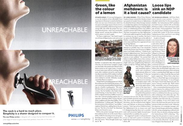 Article Preview: Afghanistan meltdown: is it a lost cause?, NOV. 5th 2007 2007 | Maclean's