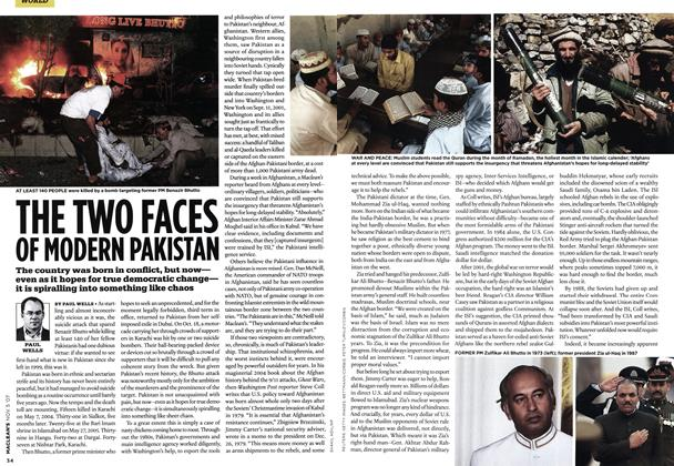 Article Preview: THE TWO FACES OF MODERN PAKISTAN, NOV. 5th 2007 2007 | Maclean's