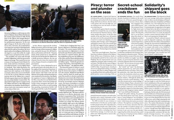 Article Preview: Piracy: terror and plunder on the seas, NOV. 5th 2007 2007 | Maclean's