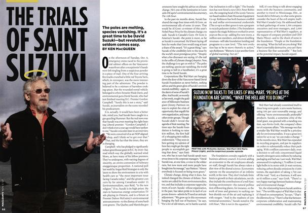 Article Preview: THE TRIALS OF SAINT SUZUKI, NOV. 5th 2007 2007 | Maclean's