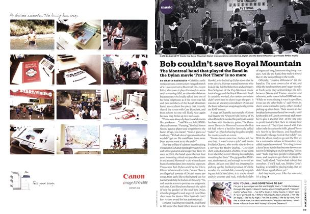 Article Preview: Bob couldn't save Royal Mountain, NOV. 5th 2007 2007 | Maclean's