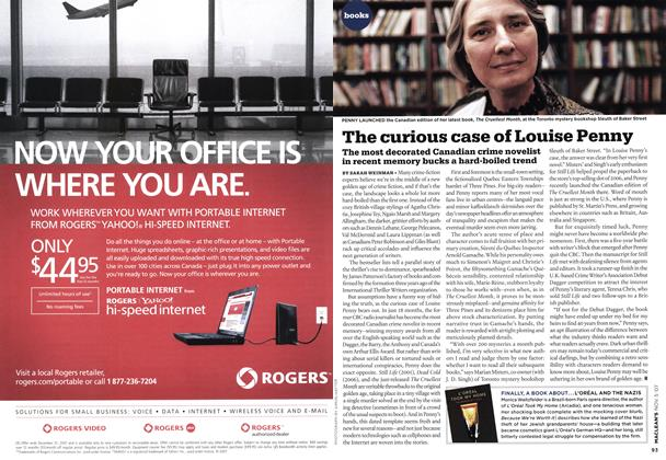 Article Preview: The curious case of Louise Penny, NOV. 5th 2007 2007 | Maclean's