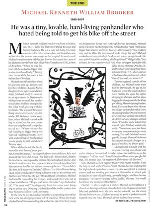 Article Preview: He was a tiny, lovable, hard-living panhandler who hated being told to get his bike off the street, NOV. 5th 2007 2007 | Maclean's