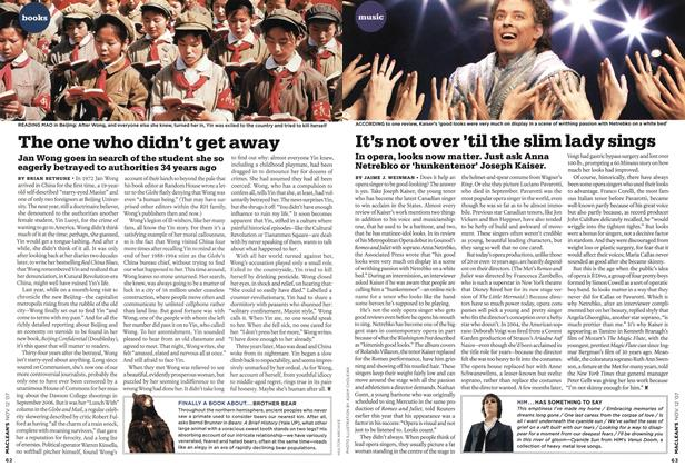 Article Preview: The one who didn't get away, NOV. 12th 2007 2007 | Maclean's