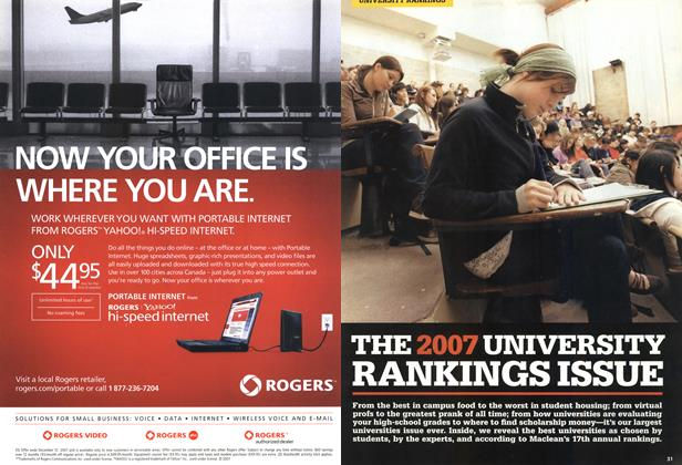 Article Preview: THE 2007 UNIVERSITY RANKINGS ISSUE, NOV. 19th 2007 2007 | Maclean's