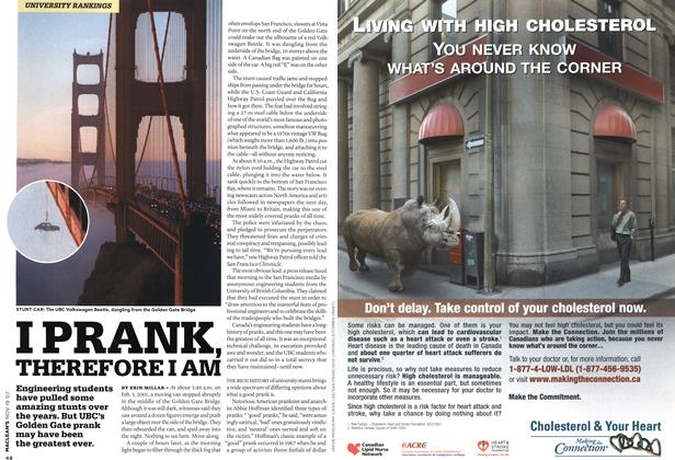 Article Preview: I PRANK, THEREFORE I AM, NOV. 19th 2007 2007 | Maclean's