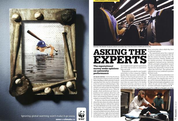 Article Preview: ASKING THE EXPERTS, NOV. 19th 2007 2007 | Maclean's