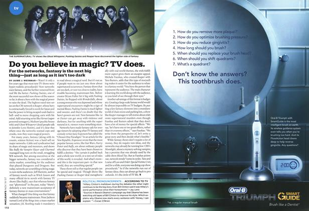 Article Preview: Do you believe in magic? TV does., NOV. 19th 2007 2007 | Maclean's