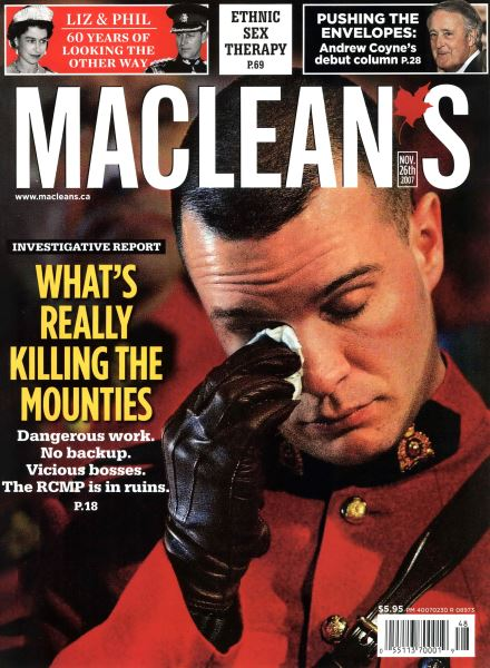 Issue: - NOV. 26th 2007 | Maclean's