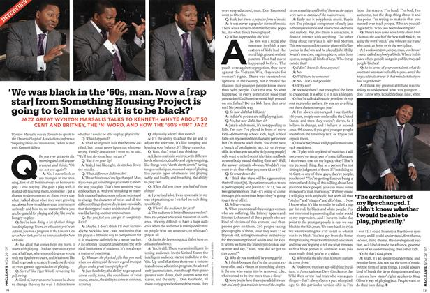Article Preview: 'We was black in the '60s, man. Now a [rap star] from Something Housing Project is going to tell me what it is to be black?', NOV. 26th 2007 2007 | Maclean's