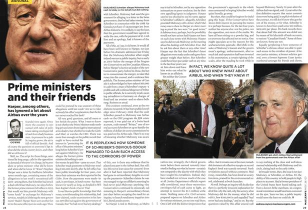 Article Preview: Prime ministers and their friends, NOV. 26th 2007 2007 | Maclean's