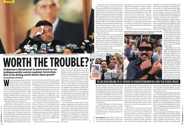 Article Preview: WORTH THE TROUBLE?, NOV. 26th 2007 2007 | Maclean's