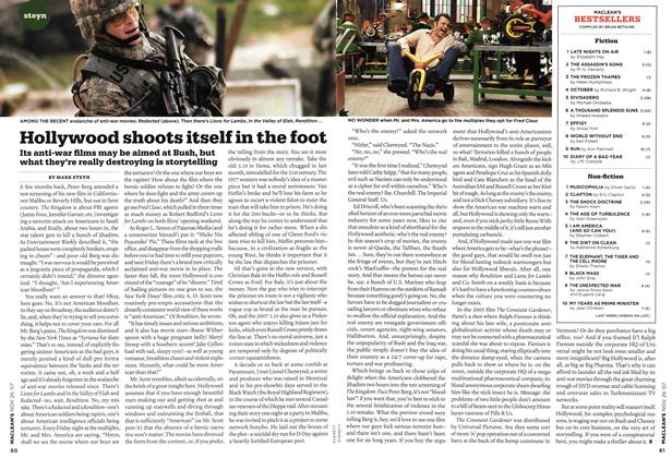 Article Preview: Hollywood shoots itself in the foot, NOV. 26th 2007 2007 | Maclean's