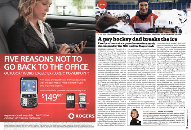 Article Preview: A gay hockey dad breaks the ice, NOV. 26th 2007 2007 | Maclean's