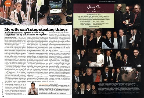 Article Preview: My wife can't stop stealing things, NOV. 26th 2007 2007 | Maclean's