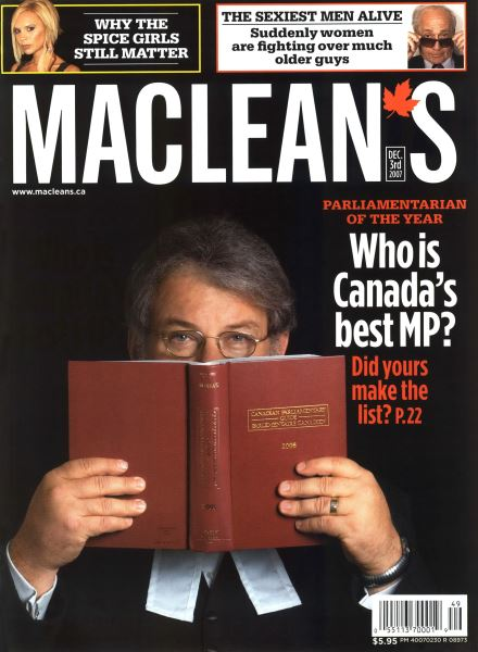 Issue: - DEC. 3rd 2007 | Maclean's