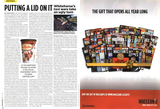 Article Preview: Whitehorse's taxi wars take an ugly turn, DEC. 3rd 2007 2007 | Maclean's