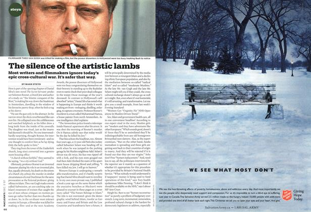 Article Preview: The silence of the artistic lambs, DEC. 3rd 2007 2007 | Maclean's