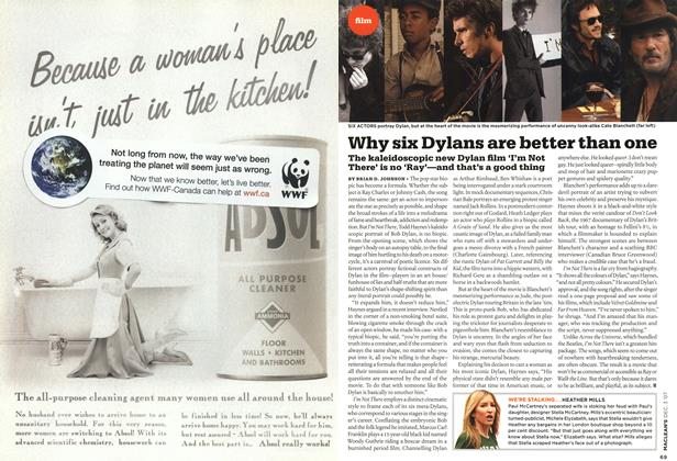 Article Preview: Why six Dylans are better than one, DEC. 3rd 2007 2007 | Maclean's