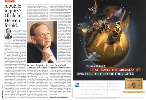 Article Preview: A public inquiry? Oh dear. Heaven forbid., DEC. 3rd 2007 2007 | Maclean's