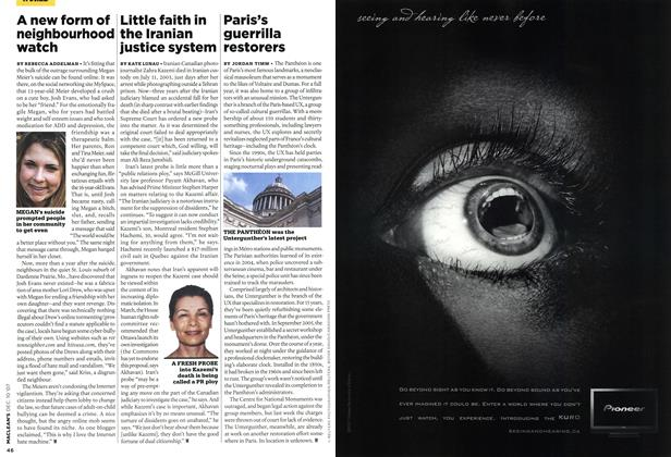 Article Preview: A new form of neighbourhood watch, DEC. 10th 2007 2007 | Maclean's
