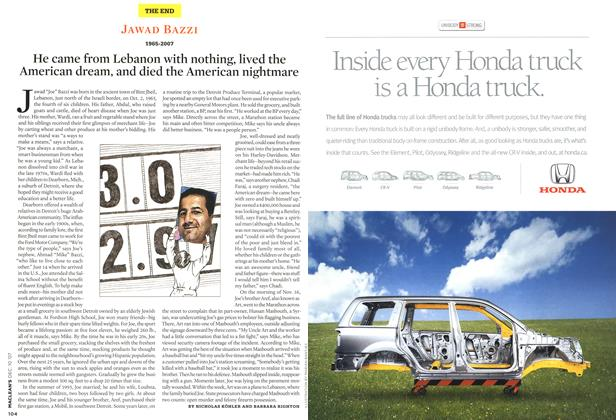 Article Preview: He came from Lebanon with nothing, lived the American dream, and died the American nightmare, DEC. 10th 2007 2007   Maclean's