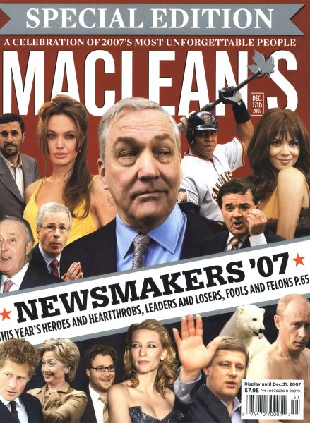 Issue: - DEC. 17th 2007 | Maclean's