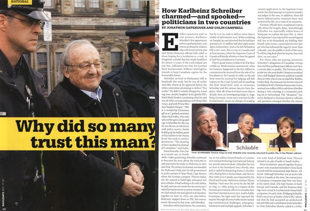 Article Preview: Why did so many trust this man?, DEC. 17th 2007 2007 | Maclean's