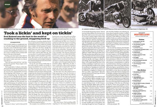 Article Preview: Took a lickin' and kept on tickin', DEC. 17th 2007 2007 | Maclean's