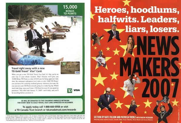 Article Preview: Heroes, hoodlumns, halfwits. Leaders, liars, losers., DEC. 17th 2007 2007 | Maclean's