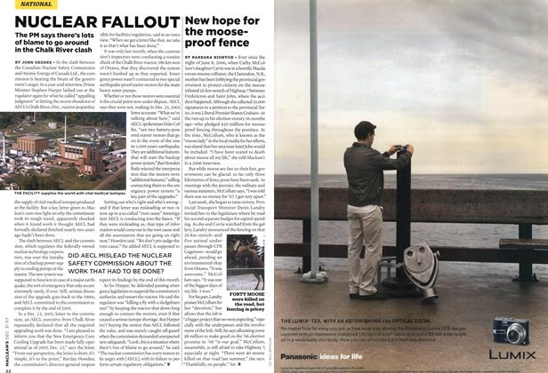 Article Preview: NUCLEAR FALLOUT, DEC. 31st 2007 2007 | Maclean's
